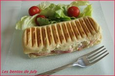 Idees per sopar ! Paninis, Weightwatchers Desserts, Bento, Ww Online, Ww Recipes, Street Food, Bacon, Sandwiches, Food And Drink