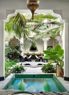 8 Timely Hacks: Natural Home Decor Ideas Reading Nooks natural home decor rustic house.Natural Home Decor Inspiration Color Schemes natural home decor diy dreams.All Natural Home Decor Window. Indoor Swimming Pools, Swimming Pool Designs, Patio Interior, Interior And Exterior, Interior Design, Interior Paint, Outdoor Rooms, Outdoor Living, Indoor Outdoor