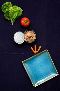 Crisp tuna salad