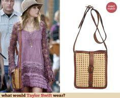 Taylor Swift Fashion: Patricia Nash Wicker Venezia Pouch