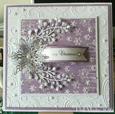 Phills' Crafty Place: Hochanda TV Shows Simple Christmas Cards, Homemade Christmas Cards, Noel Christmas, Xmas Cards, Homemade Cards, Handmade Christmas, Holiday Cards, Christmas Crafts, Christmas Sentiments