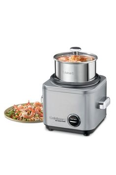 I've never seen a rice cooker that looked like this! - Cuisinart 4-7 Cup Stainless Steel Rice Cooker