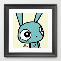 Pixopop Hopeful framed art print - $39.00