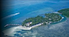 Little Palm Island - quite the place - I would love to do brunch there one day while I'm in the Keys next time.  The ferry stop is on Little Torch Key - one island past Big Pine on your way to Key West