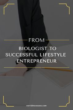 The journey of one successful business owner from a career as a biologist to a lifestyle entrepreneur that can work from anywhere they want. Check out these actionable tips on how you can replicate it in your life!
