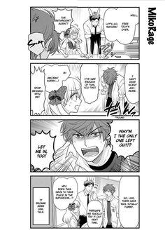 Gekkan Shoujo Nozaki-kun 22 - loneliness=girl talk. ... I wonder