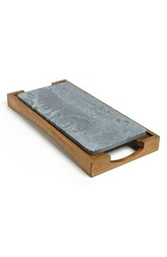 Soapstone can be chilled or baked to keep apps at perfecto temp! Sparq Oven to Table Platter & Tray available at #Nordstrom