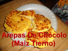 Arepas De Chocolo(De Maiz Tierno)