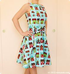 Sew Can Do: ModCloth Look, DIY Price: Stylish Holiday Dress Making