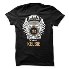 Never Underestimate The Power of a KELSIE - #hoodie quotes #sweatshirt upcycle. CHECKOUT => https://www.sunfrog.com/Names/Never-Underestimate-The-Power-of-a-KELSIE.html?68278