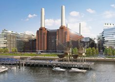 Battersea Power Station #london #mustsee #accorcityguide The nearest Accor hotel : ibis London Blackfriars