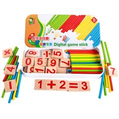 Cyfrowy Gry Trzymać Dziecko Edukacyjne Montessori Zabawki z Iron Box Dzieci Nauka Matematyki Dziecko Dzieci Zabawki Drewniane w Cyfrowy Gry Trzymać Dziecko Edukacyjne Montessori Zabawki z Iron Box Dzieci Nauka Matematyki Dziecko Dzieci Zabawki Drewniane od Math Toys na Aliexpress.com   Grupa Alibaba