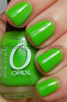 Orly Fresh on my toes <3