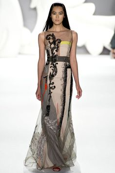 Carolina Herrera Spring 2013 Ready-to-Wear - Collection - Gallery - Look 1 - Style.com