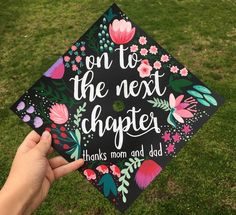 Creative Graduation Cap Ideas Perfect for Grads Who Like to Get CraftyYou can find Grad cap and more on our website.Creative Graduation Cap I. Disney Graduation Cap, Funny Graduation Caps, Custom Graduation Caps, Graduation Cap Toppers, Graduation Cap Designs, Graduation Cap Decoration, Graduation Diy, Graduation Quotes, Decorated Graduation Caps