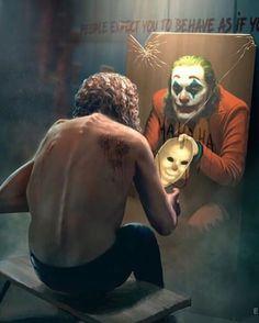 Which Joker did you like the most so far from those weve seen? Evolution of Joker by Shohnur Narchaev Joker Batman, Joker Y Harley Quinn, Joker Clown, The Joker, Joker Arkham, Joaquin Phoenix, Joker Images, Joker Pics, Gotham City