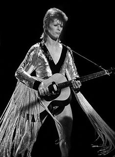 David Bowie Performing, Ziggy Stardust era Early Black and white Rock Chic, 70s Glam Rock, Angela Bowie, Anthony Kiedis, Lauryn Hill, Saint Yves, Carl Jung, Freddie Mercury, Diamanda Galas