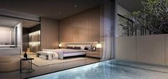 87 extraordinary and inspiring home bedroom interior design for decoration 57 Home Bedroom, Modern Bedroom, Bedrooms, Sofa Design, Scda Architects, Interior Architecture, Interior Design, Master Room, Master Bathroom