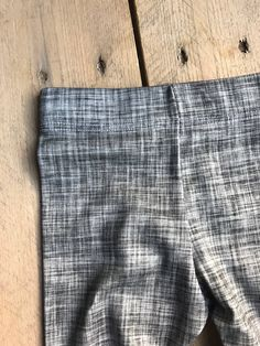 grey linen Little Acorns, Men Closet, Knit Leggings, Cotton Spandex, Organic Cotton, Grey, Fabric, Man Closet, Gray