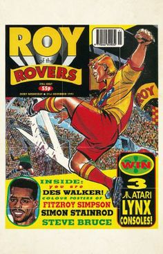 Roy of the Rovers Postcard Box Football Cards, Football Players, Steve Bruce, Laws Of The Game, Sir Alex Ferguson, Association Football, Most Popular Sports, Everton Fc, British