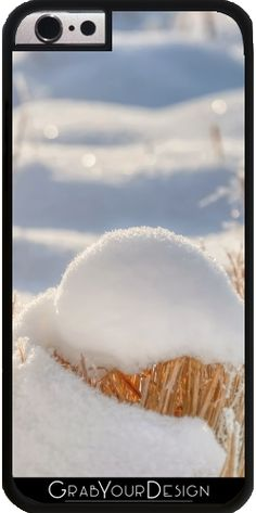 GrabYourDesign - Case for Iphone 6/6S snow on rushes - by UtArt