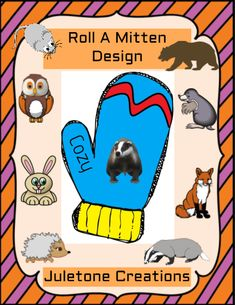 Roll A Mitten Design Roll A Story, Graphing Worksheets, Jan Brett, Template, Math Activities, Short Stories, Lesson Plans, Middle School, Classroom