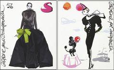 Lacroix for Schiaparelli Elsa Schiaparelli, Christian Lacroix, Denial, In My Feelings, First World, Sketches, Magazine, Illustration, Image