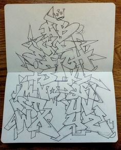 Folow me for more creatieve content Graffiti Text, Graffiti Piece, Graffiti Writing, Graffiti Tagging, Street Art Graffiti, Graffiti Designs, Graffiti Alphabet Styles, Graffiti Lettering Alphabet, Graffiti Styles