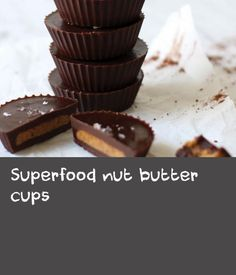 """Superfood nut butter cups 