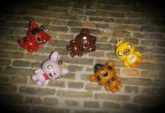 Five Nights at Freddy's Charms by cupcakemassacreloki on Etsy
