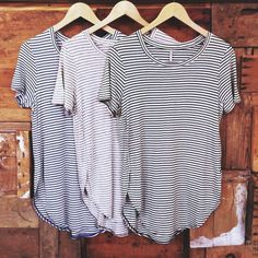 stripes // simple // style // fashion // t shirts // stripes //
