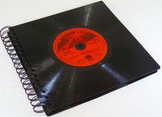 Fotoalben - Fotoalbum Schallplatte Dire Straits - ein Designerstück von Aurum bei DaWanda