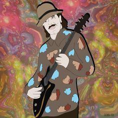 Guitar Legend, Carlos Santana #OyeComoVa