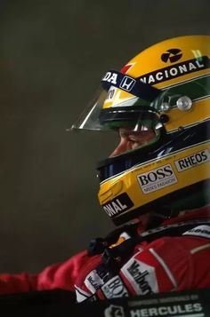 10x8 Inch (25x20cm) Print - High quality print. Ayrton Senna (BRA) McLaren MP4/5B, retired with a puncture   Mexican GP, Mexico City, 24 June 1990. helmet, mexico. Image supplied by Motorsport Images. Product ID:dmcs_19302314_6947_0 Gp Mexico, Mexico City, F1 Wallpaper Hd, Formula 1 Car, Mclaren Mp4, Triumph, F1 Drivers, F1 Racing, Drag Racing