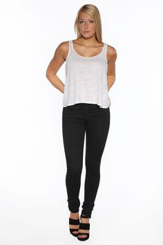 New for our Fall 2014 Collection is our Women's washed black skinny jeans. See the whole collection now at www.marcnelsondeniom.com