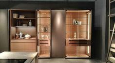 Interiores elegantes con sistemas de iluminación LED marcan tendencia. ¿Te apuntas? #TodoEnOrden #Cocina #Armario #cristal