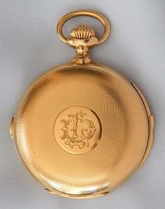 Ulysse Nardin Minute Repeater Chronograph - Bogoff Antique Pocket Watch # 8069
