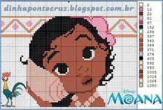 Boa sexta feira!!!!  Hoje temos um mar de aventuras na versão baby:     Moana a princesinha do mar da Disney, corajosa e destemida, para al...