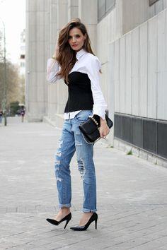 95ce3bc9ad7f8 corset and boyfriend jeans looks - Lady Addict