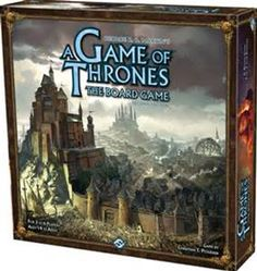 A Game Of Thrones Board Game Players take on the roles of the great Houses of the Seven Kingdoms as they try to take control of the Iron Throne. Based on the TV Series.