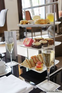 Afternoon Tea at One Aldwych Hotel in London - Photo credit: Not Just Another Milla