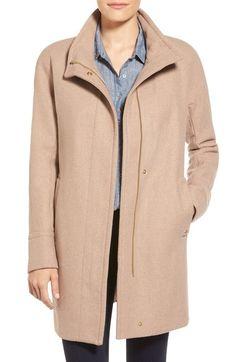 1d52207ef0a Ellen Tracy Wool Blend Stadium Coat Nordstrom Coats
