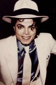 Michael Jackson smooth criminal bad era cute smile #MichaelJackson
