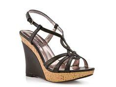 Charles by Charles David Luck 2 Black Wedge Sandal  $39.95    www.dsw.com/shoe/charles+by+charles+david+luck+2+black+wedge+sandal+?prodId=dsw12prod3240007=SEARCH
