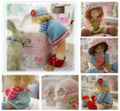 2 Knitting Pattern Deal/ 4 TEAROOM Dolls / by maryjanestearoom