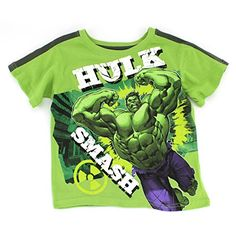 Take a look at this Green 'Hulk Smash' Tee - Boys by Avengers on today!