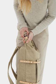 U-tility Backpack Raw Natural