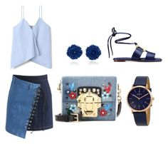 """""""#11. Blue"""" by chavelles on Polyvore featuring Chicwish, Tory Burch, DKNY, Bibi Marini and Dolce&Gabbana"""