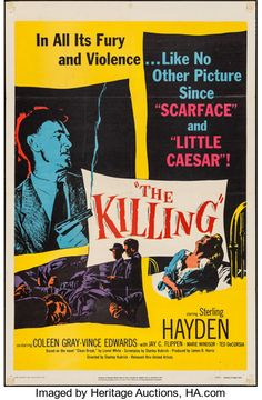 "Movie Posters:Film Noir, The Killing (United Artists, 1956). One Sheet (27"" X 41""). FilmNoir.. ..."