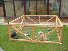 Como Construir um Canil Seguro para seu Cachorro | Raças de Cachorros #puppytrainingdiy Dog Yard, Dog Fence, Dog Pen Outdoor, Diy Dog Run, Puppy Pens, Puppy Playpen, Pet Corner, Pet Dogs, Pets